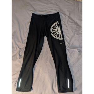 Nike Pants & Jumpsuits - Black Nike x Soul Cycle midcalf leggings